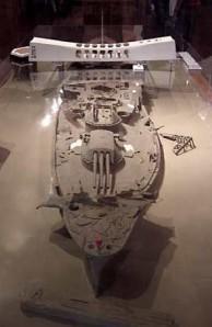 model of Arizona memorial