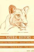 Natural History Feb. 1938 cover